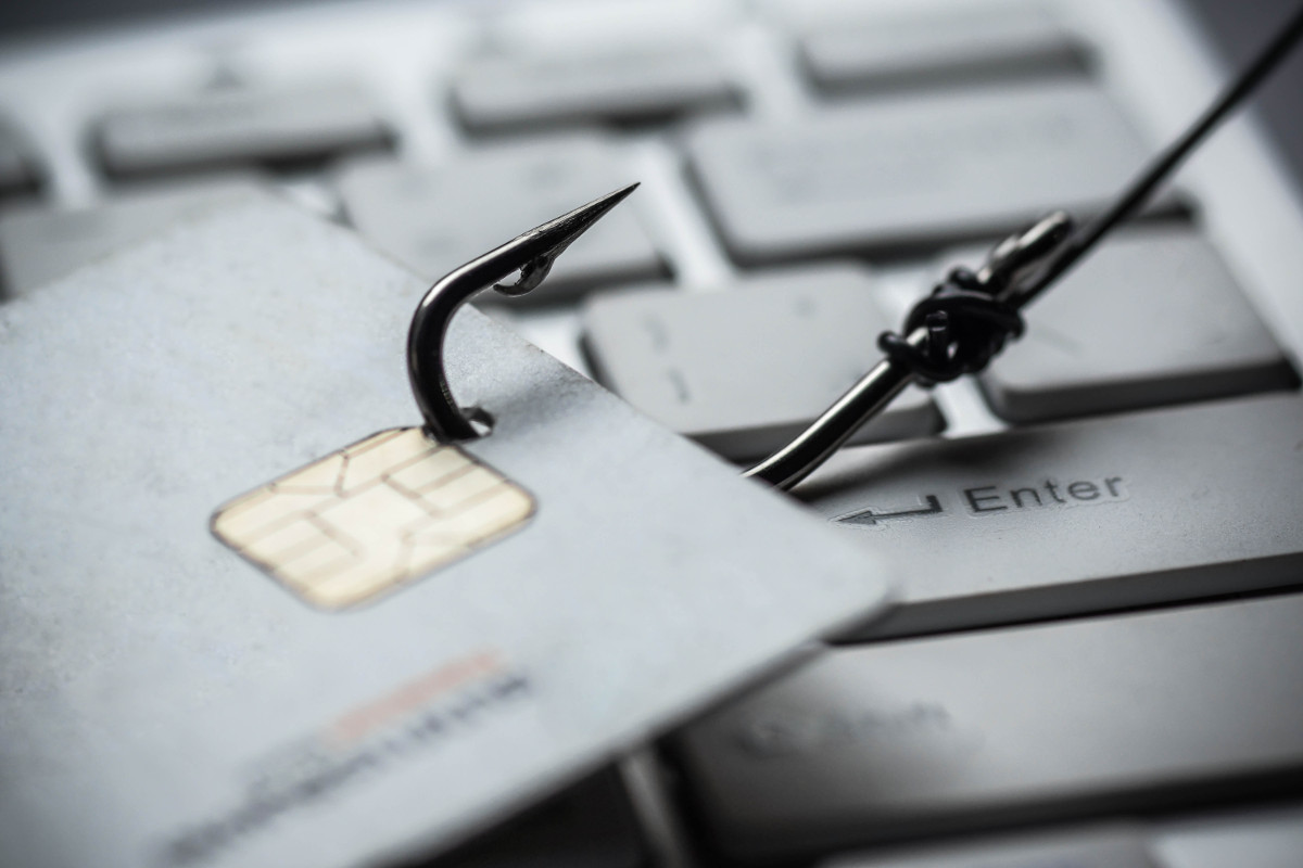 A credit card phishing scam