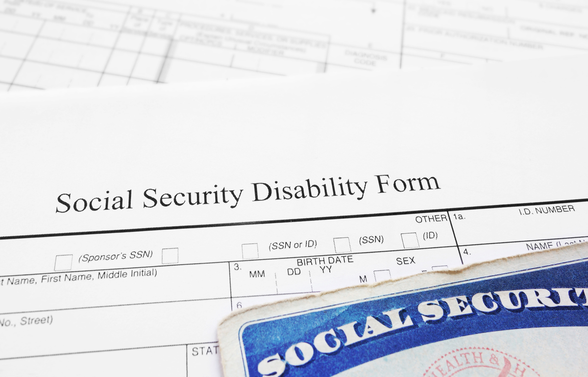 Application for Social Security disability benefits.