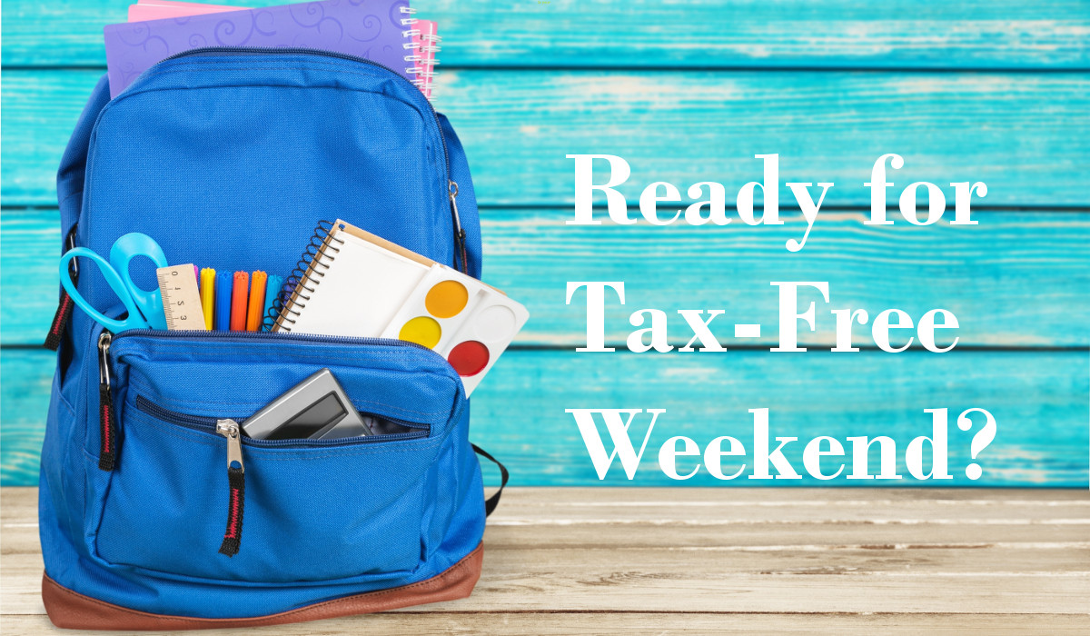 Find out what your state is doing for its tax-free weekend 2019.